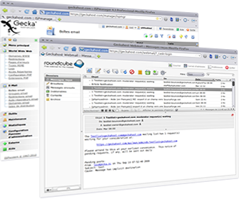 Interface de gestion et Webmail